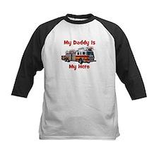 Daddy Is My Hero FireTruck Tee