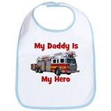 Daddy Is My Hero FireTruck Bib