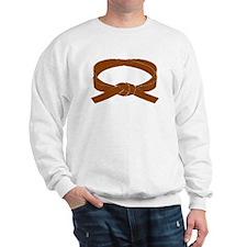Brown Belt Sweatshirt