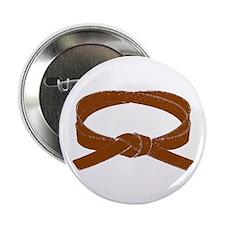"Brown Belt 2.25"" Button"
