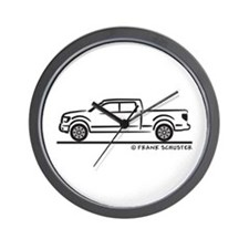 2010 Ford F 150 Wall Clock