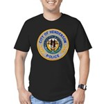Henderson Police Men's Fitted T-Shirt (dark)