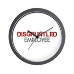 Disgruntled Employee Wall Clock