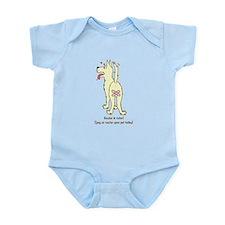Neuter Dog Infant Bodysuit