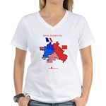 Cold War T-Sihrt Women's V-Neck T-Shirt