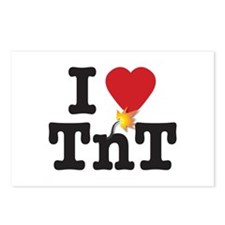 TnT Ignite my Heart Postcards (Package of 8)