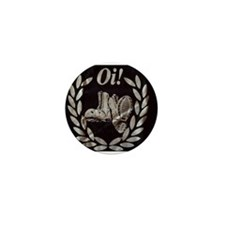 Oi! Boots Crest OiSkinblu Mini Badge/Button/Pin