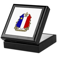 """Fiere"" Acadienne Keepsake Box"