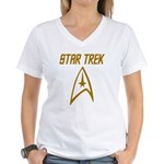 Star Trek Women's V-Neck T-Shirt