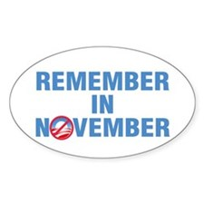 Remember In November Decal