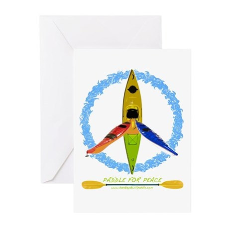 PADDLE FOR PEACE Greeting Cards (Pk of 10)