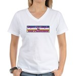 Deport All Illegals Women's V-Neck T-Shirt