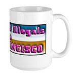 Deport All Illegals Large Mug