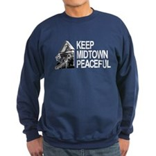Keep Midtown Peaceful Sweatshirt