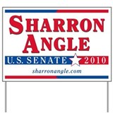 Sharron Angle for Senate Yard Sign