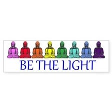 Buddha Rainbow Bumper Sticker
