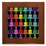 Buddha Rainbow Framed Tile