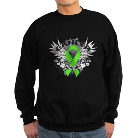 Lymphoma Cancer Survivor Sweatshirt (dark)