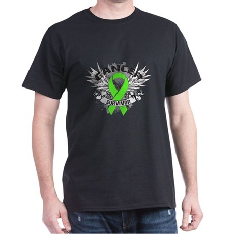 Lymphoma Cancer Survivor Dark T-Shirt