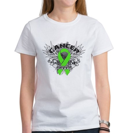 Lymphoma Cancer Survivor Women's T-Shirt