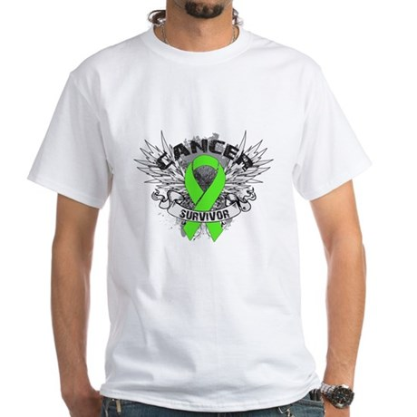 Lymphoma Cancer Survivor White T-Shirt