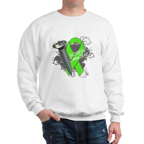 Screw Lymphoma Cancer Sweatshirt