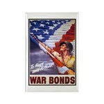 Have & Hold American Flag Rectangle Magnet (10 pac