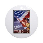 Have & Hold American Flag Ornament (Round)