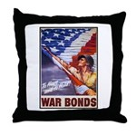 Have & Hold American Flag Throw Pillow