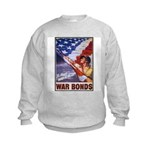 Have & Hold American Flag (Front) Kids Sweatshirt