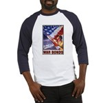 Have & Hold American Flag (Front) Baseball Jersey