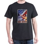 Have & Hold American Flag (Front) Black T-Shirt