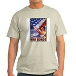 Have & Hold American Flag (Front) Ash Grey T-Shirt
