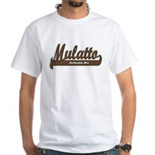"""Mulatto - Authentic Mix"" White Tee"