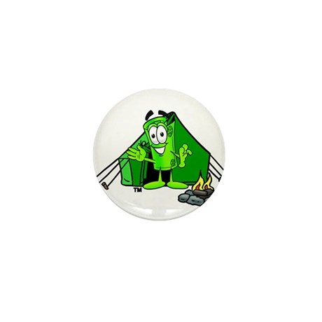 Mr. Deal - Camping Tent Mini Button (10 pack)