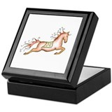 Capriole Horse Keepsake Box