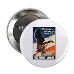 Victory Eagle Poster Art Button