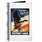 Victory Eagle Poster Art Journal