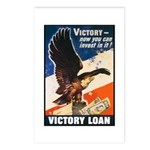 Victory Eagle Poster Art Postcards (Package of 8)