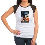 Victory Eagle Poster Art (Front) Women's Cap Sleev