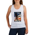 Victory Eagle Poster Art Women's Tank Top