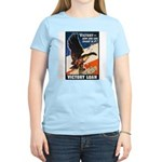 Victory Eagle Poster Art Women's Pink T-Shirt