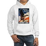 Victory Eagle Poster Art (Front) Hooded Sweatshirt
