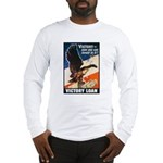 Victory Eagle Poster Art (Front) Long Sleeve T-Shi