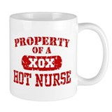 Property of a Hot Nurse Small Mug