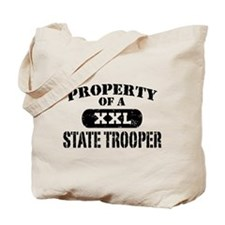 Property of a State Trooper Tote Bag