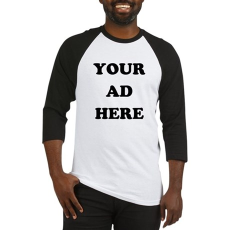 Your Ad Here Baseball Jersey