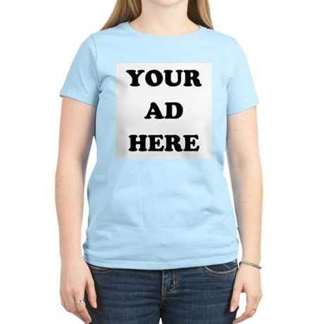 Your Ad Here Womens Light T-Shirt
