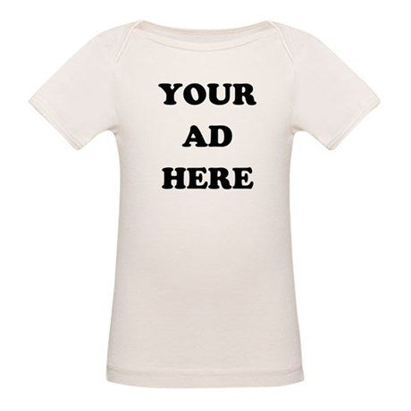 Your Ad Here Organic Baby T-Shirt