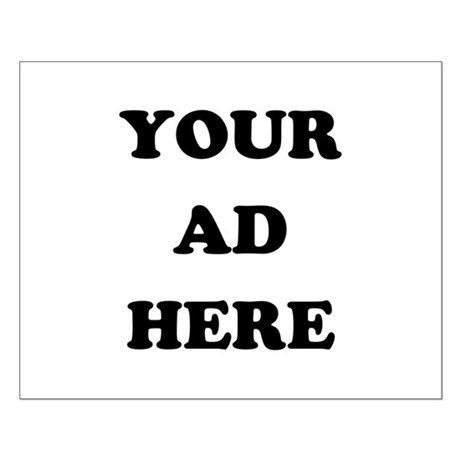 Your Ad Here Small Poster